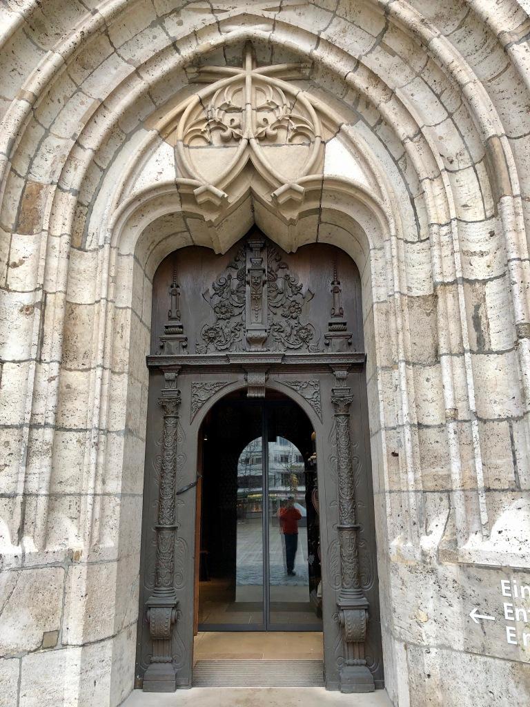 west entrance ulm mintser, Ulmer muenster, ulm, baden wuertemmberg