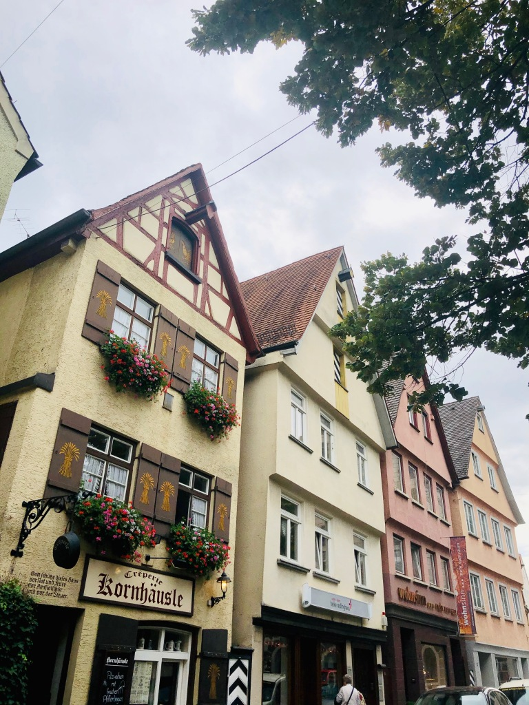 old town center ulm near ulm mintser, Ulmer muenster, ulm, baden wuertemmberg